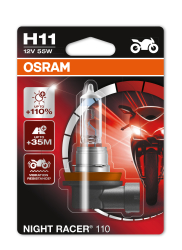 Osram Night racer 110 H11 MC pære