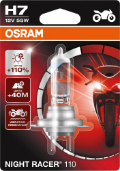 Osram Night racer 110 H7 MC pære