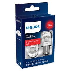 Philips X-tremeVision Gen2 P21/5W Rød LED