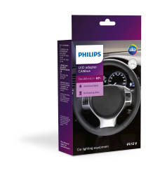 Philips Canbus snydemodstand H7 2 stk