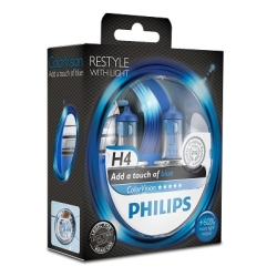 Philips ColorVision H4 Blue 2stk
