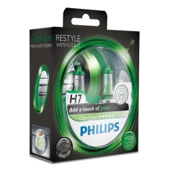 Philips ColorVision H7 Green 2stk
