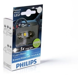 Philips Festoon X-tremeVision LED 43mm