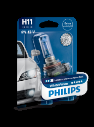 Philips WhiteVision H11 1stk.