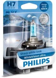 Philips Whitevision Ultra H7 1 stk