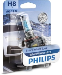 Philips Whitevision Ultra H8 1stk